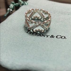 Tiffany & Co Paloma Picasso Heart Ring Size 7